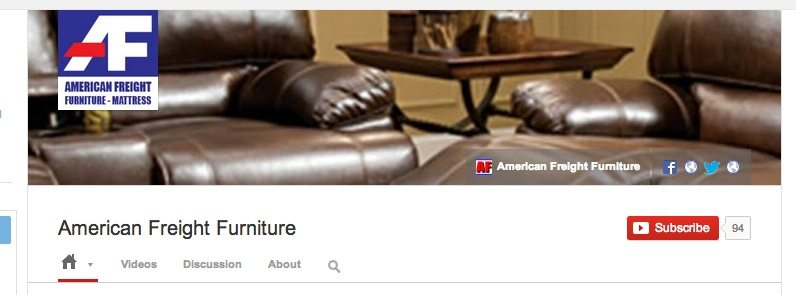 American Freight YouTube Page Gets Makeover, Adds New Videos