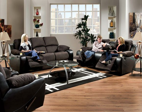 Featured Friday: Santa Barbara Onyx Motion Sofa/Loveseat