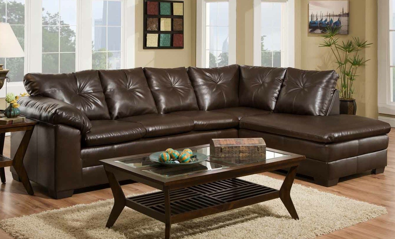 Featured Friday: Freeport Brown Sectional
