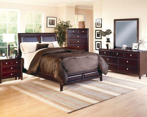 featured friday claret bedroom set american freight 14006 | 6200 2