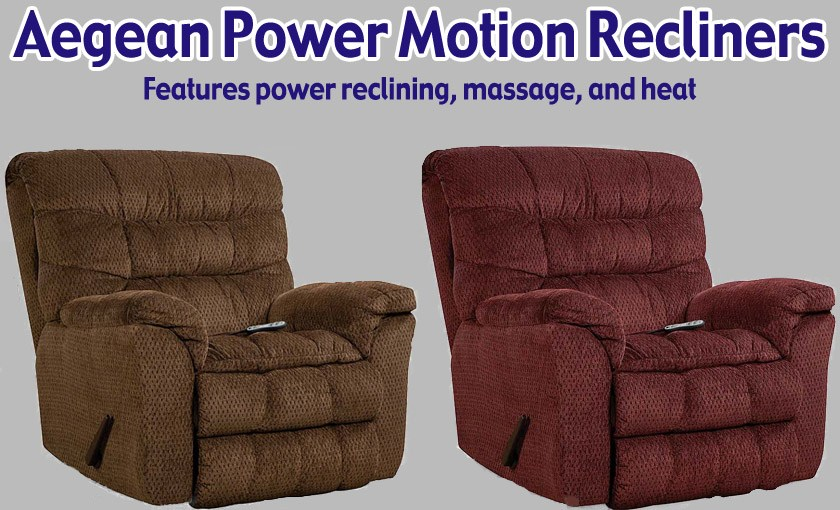 Featured Friday: Aegean Power Motion Recliners