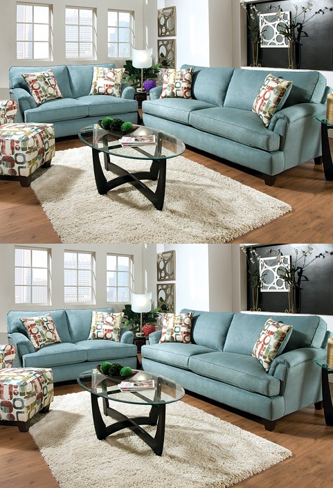 Find the Differences: Twillo Marine Sofa and Loveseat