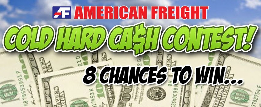 Cold Hard Cash Contest - Official Rules