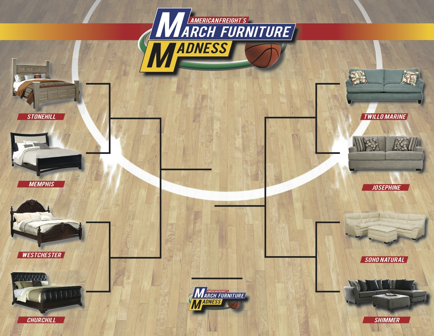 March Furniture Madness Begins on Friday, March 14th