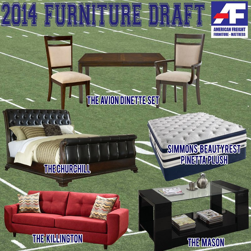 American Freight Furniture: 2014 Furniture Draft By American Freight Furniture And