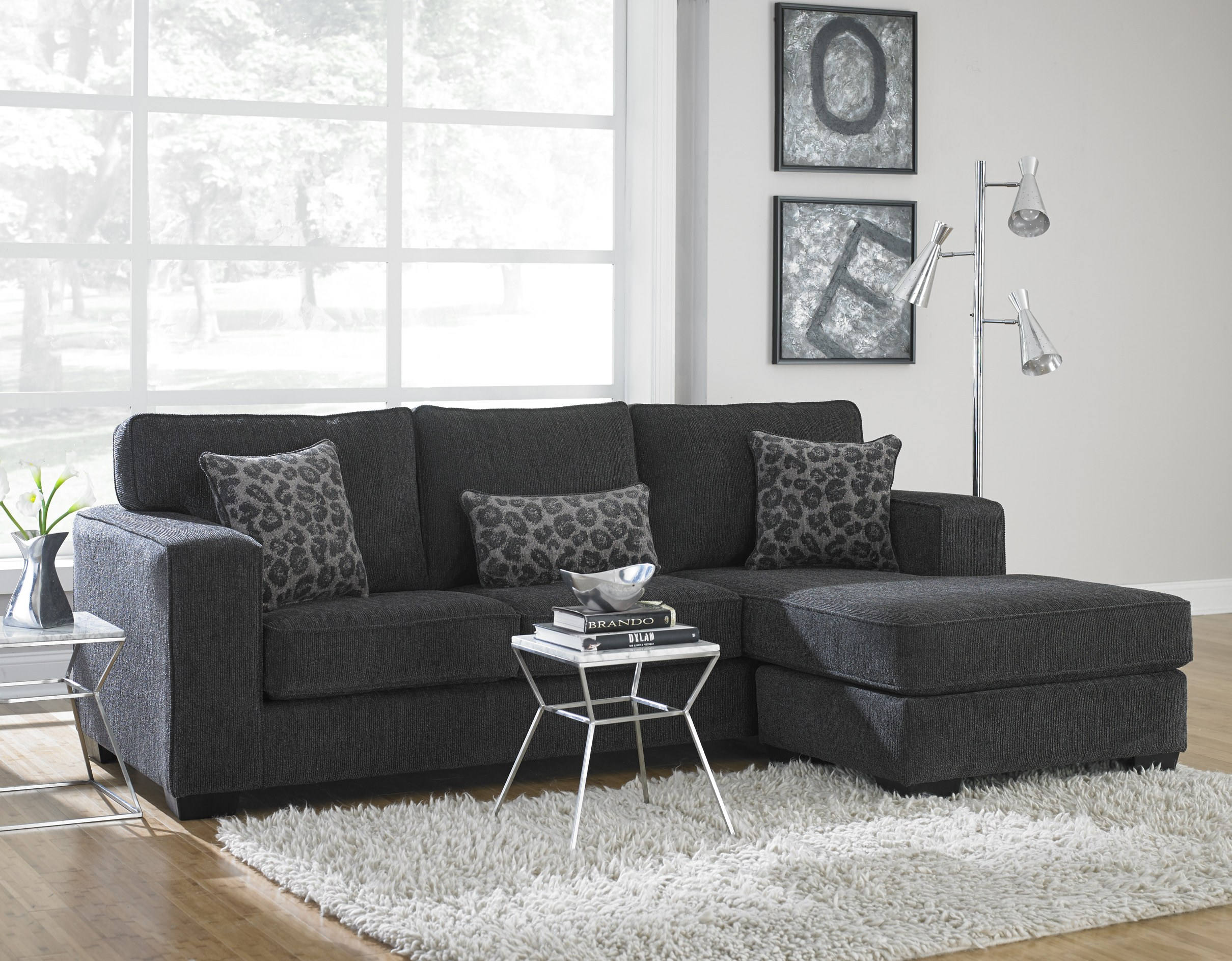 Featured Friday: Flyer Charcoal Sectional