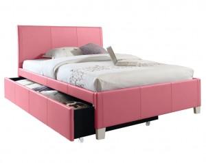 Fantasia Pink Trundle Bed
