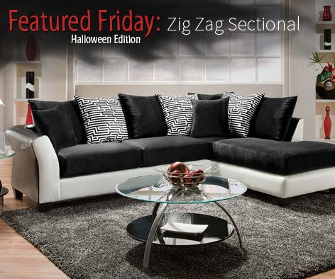Featured Friday: ZigZag 2 Piece Sectional Sofa