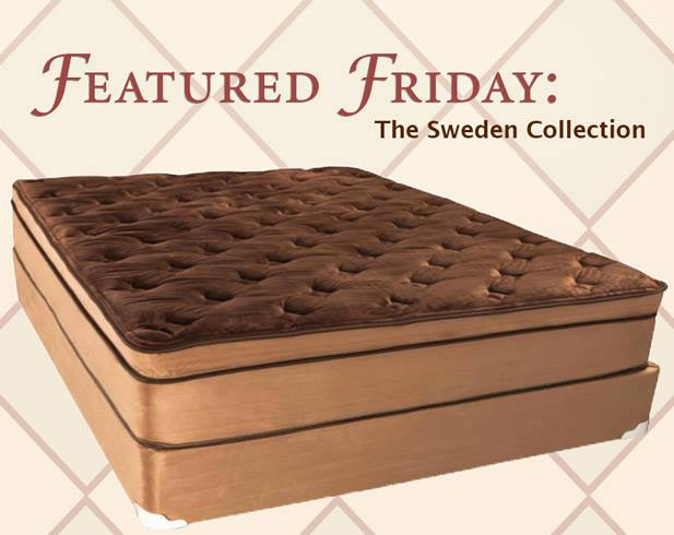 Featured Friday: Sweden Mattress Collection