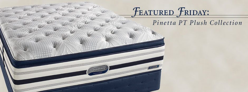 Featured Friday: Simmons® Pinetta Pillow-Top Plush Mattress Collection
