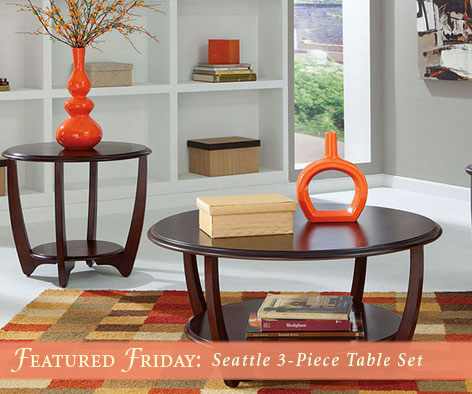 Seattle 3 Piece Table Set