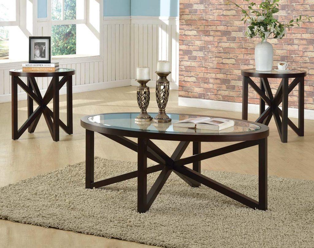Cole 3 Piece Table Set