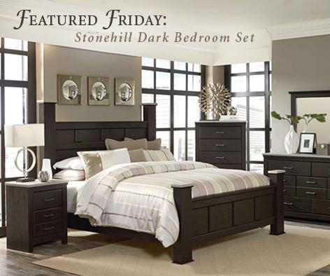 Featured Furniture: Stonehill Dark Bedroom Set