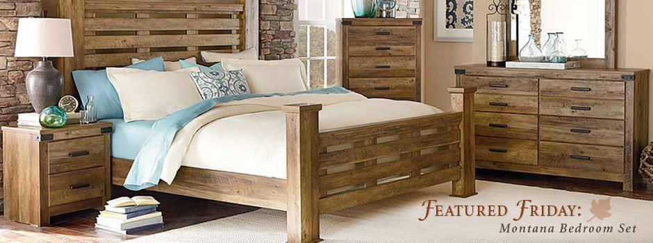 Featured Friday: Montana Bedroom Set