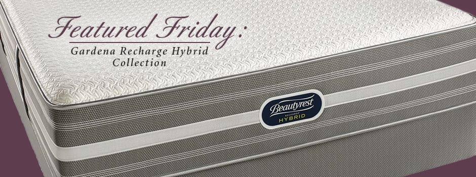 Featured Friday: Simmons Gardena Recharge Hybrid Mattress