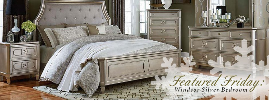 Featured Friday: Windsor Silver Bedroom Set