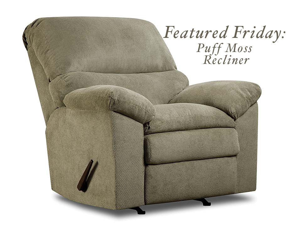 Featured Friday: Puff Moss Recliner