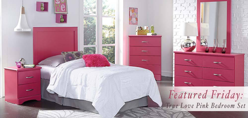 Featured Friday: True Love Pink Bedroom Set | American ...