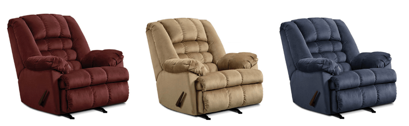 Featured Friday: Malibu (Red, White, and Blue) Recliners