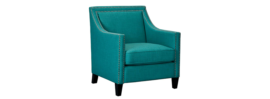 Featured Friday: Erica Teal Accent Chair