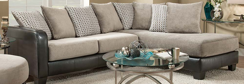 Featured Friday: Fusion Platinum 2 Piece Sectional Sofa