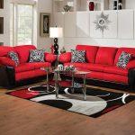 Implosion Red Sofa & Loveseat