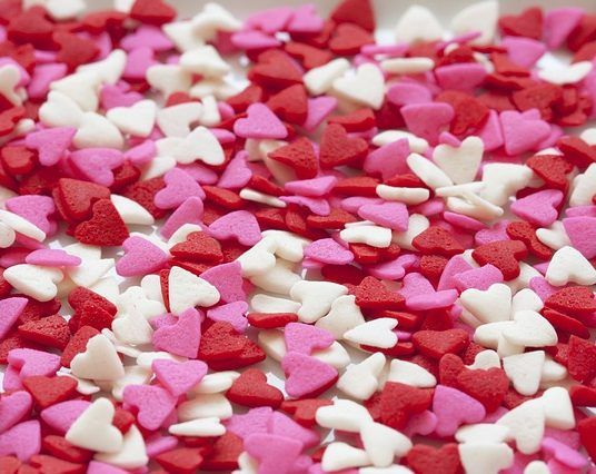 Color Your Valentine's Day Red, Pink, Purple, White, Silver....