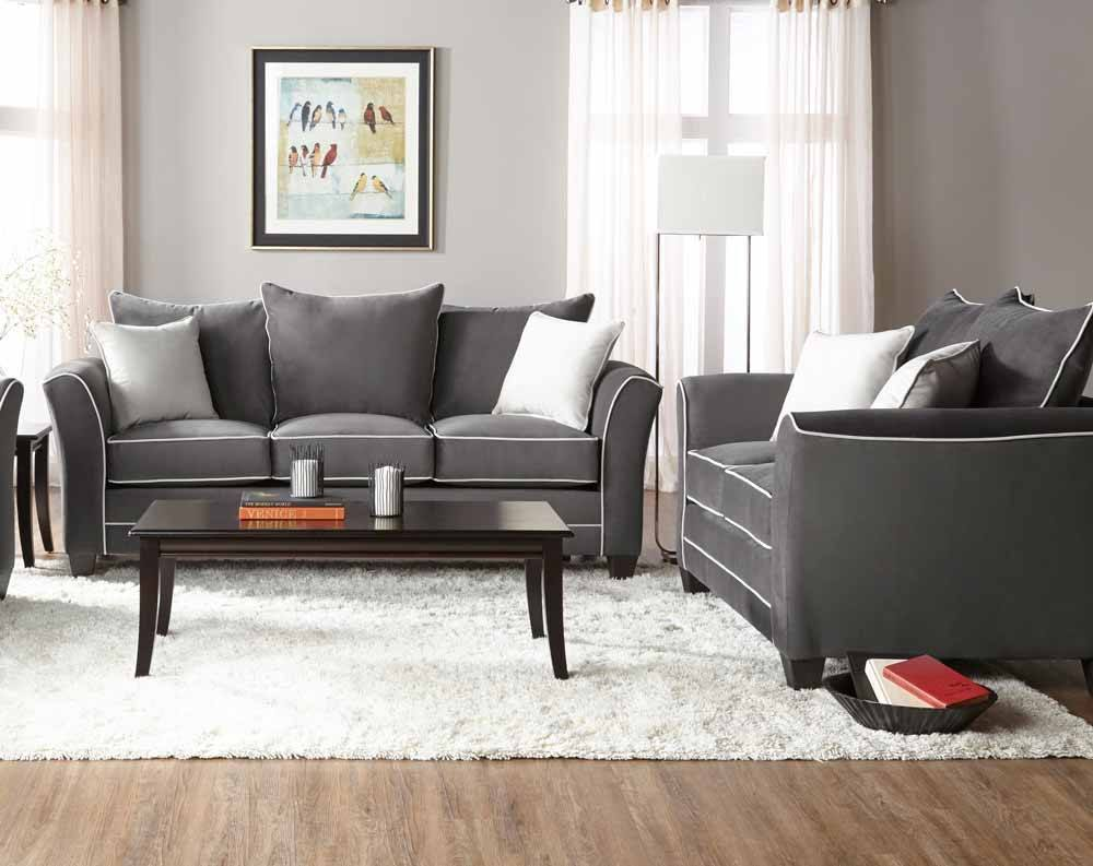 Featured Friday: Bing Ash Sofa and Loveseat