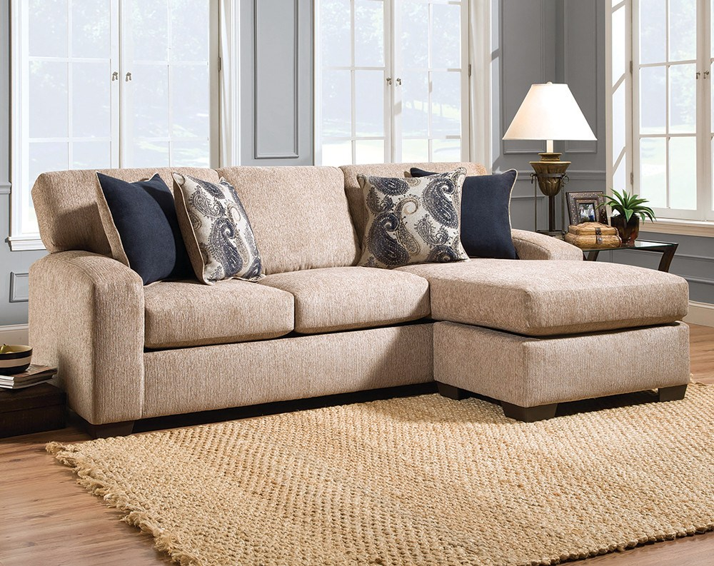 Featured Friday: Uptown Almond Two Piece Sectional Sofa