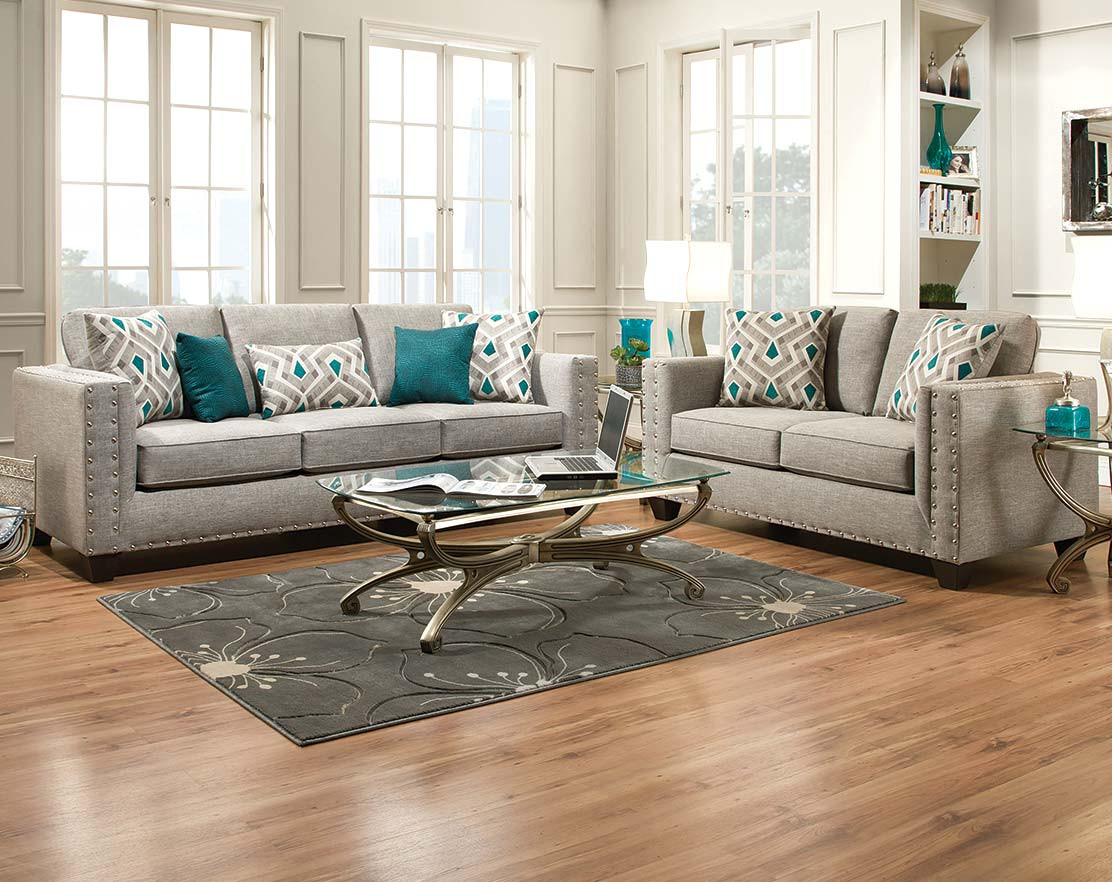 892 The Paradigm Living Room Set Grey: Decorating Your Living Room From Top To Bottom