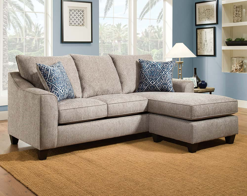 Uptown Mineral 2 PC. Sectional Sofa