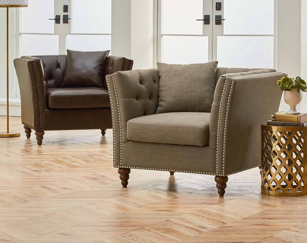 Ordinaire Featured Friday: Westerly Chocolate Accent Chair