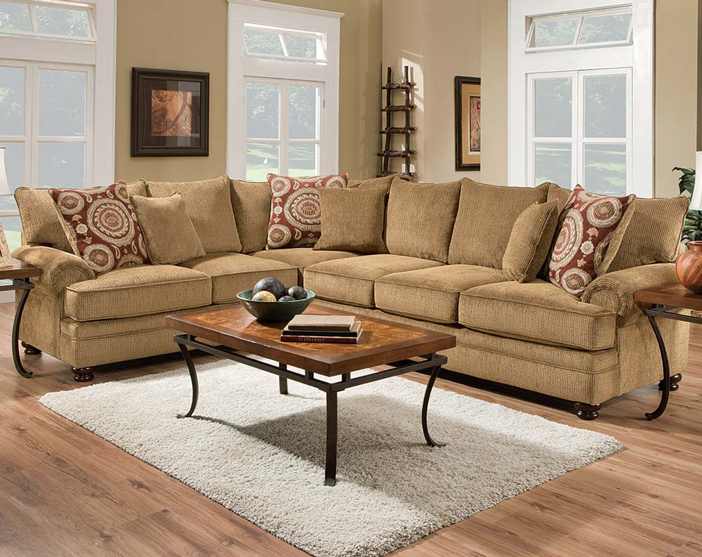 Twill 2 PC. Sectional Sofa