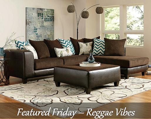 Reggae Vibes Sectional Sofa