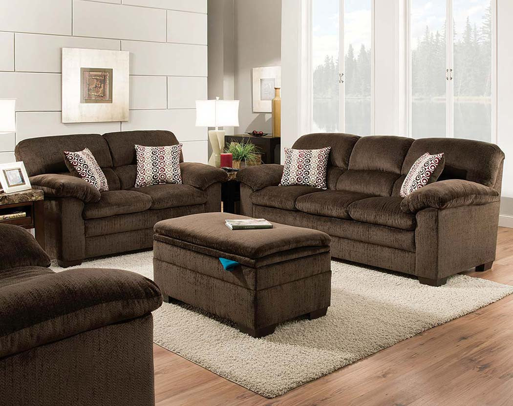 Astonishing Plato Chocolate Sofa Loveseat Gmtry Best Dining Table And Chair Ideas Images Gmtryco