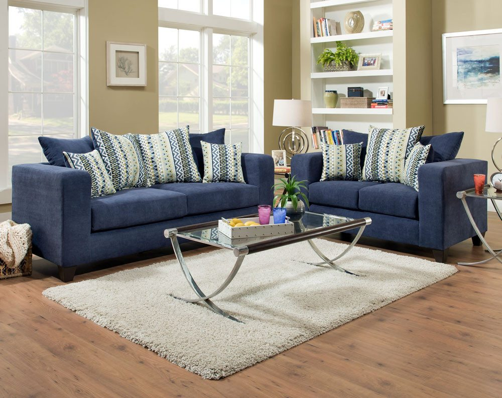 Featured Friday: Heavenly Midnight Sofa And Loveseat