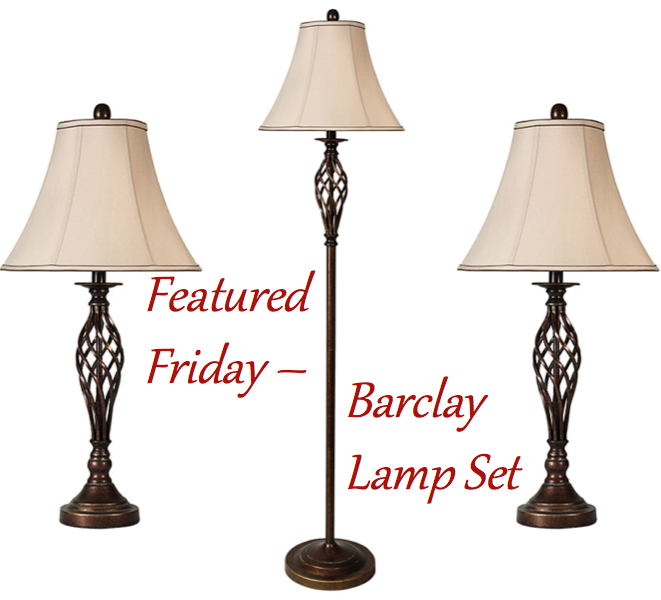 Barclay Brass Cage 3 Lamp Multi-Pack