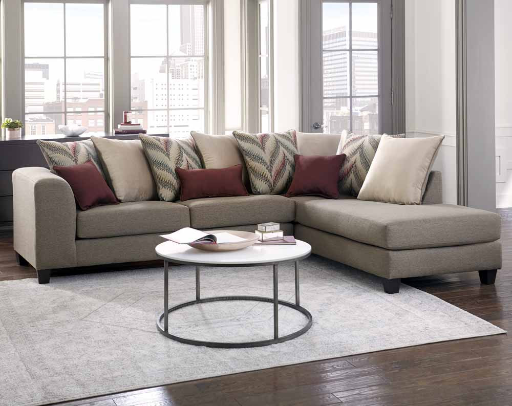 Featured Friday: Awesome Two Piece Sectional Sofa