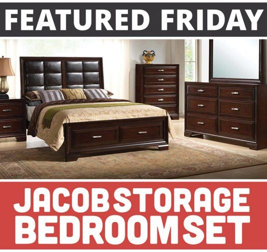Featured Friday: Jacob Storage Bedroom Set