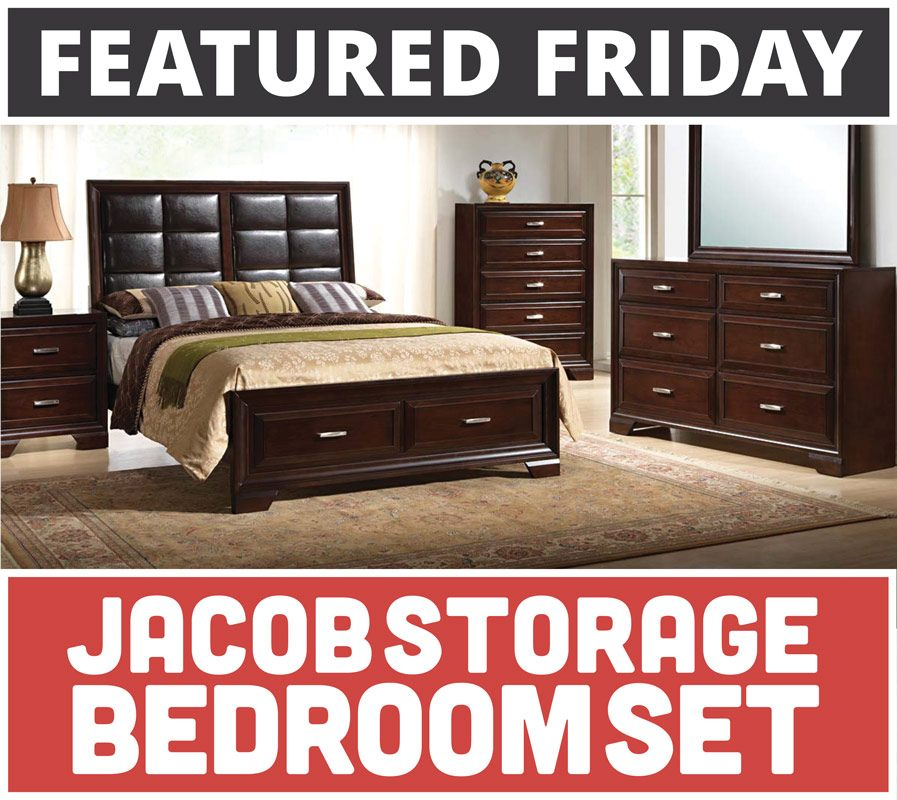American Freight Furniture Bedroom Suites: Featured Friday: Jacob Storage Bedroom Set