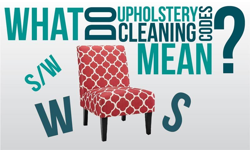 Decoding Cleaning Codes: Furniture and Upholstery