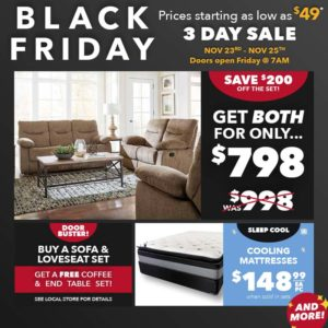 Furniture Sales For Black Friday Weekend American Freight