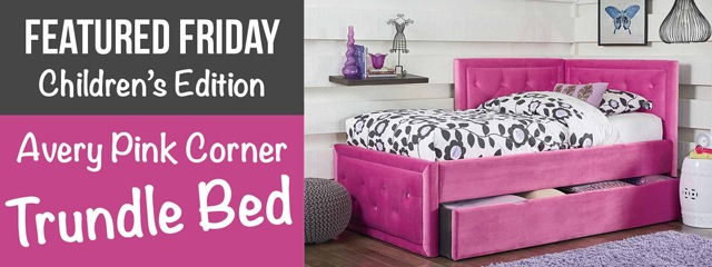 Pink Beds: Catching Pink Winks this Featured Friday