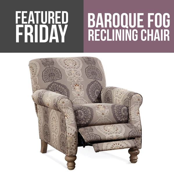 Update Your Living Room : Baroque Fog Reclining Chair
