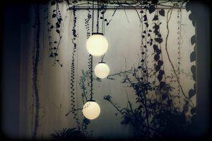 Winter Blues Window