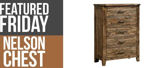 Nelson Chest : Rustic Bedroom Furniture