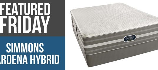 Why We Love the Simmons Gardena Hybrid Mattress