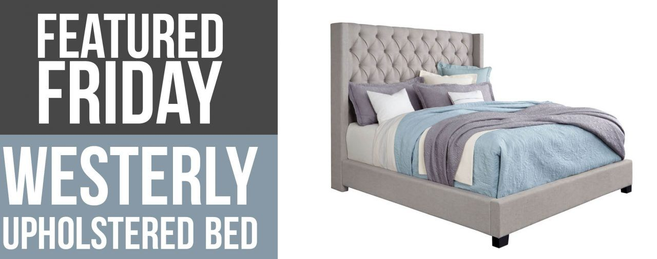Grey Upholstered Bed : Westerly Featured Friday