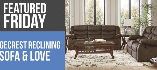 Motion Reclining Sofa and Loveseat Deal