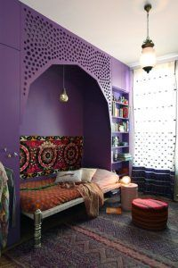 Ultra Violet Accent Wall